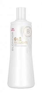 WELLA оксид Blondor Freeliahts 6% 1000 мл
