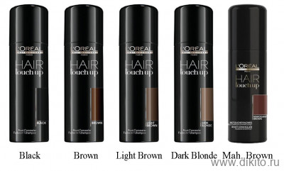 L`oreal Hair Touch Up Консилер светло коричневый 75 мл