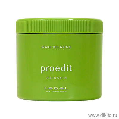 LEBEL Крем для волос PROEDIT HAIRSKIN WAKE RELAXING 360 мл